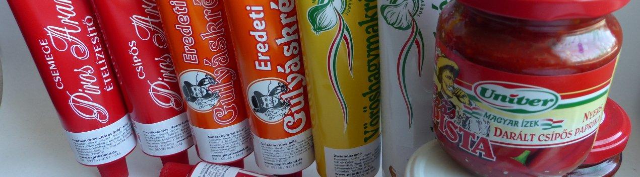 Paprika und Gulaschcreme